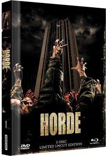 Die Horde (Uncut Limited Mediabook, Blu-ray+DVD, Cover B) (2009) [FSK 18] [Blu-ray]