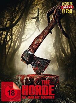 The Horde - Die Jagd hat begonnen (Limited Mediabook, Blu-ray+DVD) (2016) [FSK 18] [Blu-ray]