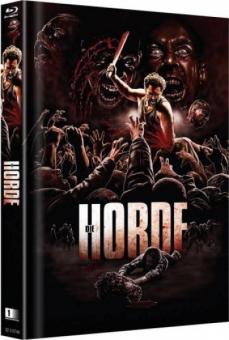 Die Horde (Uncut Limited Mediabook, Cover D) (2009) [FSK 18] [Blu-ray]