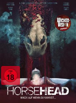 Horsehead - Wach auf, wenn du kannst...(3 Disc Limited Mediabook, Blu-ray + 2 DVDs) (2014) [FSK 18] [Blu-ray]