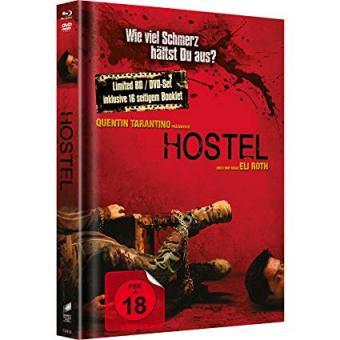 Hostel (Limited Mediabook, Blu-ray+DVD) (2005) [FSK 18] [Blu-ray]