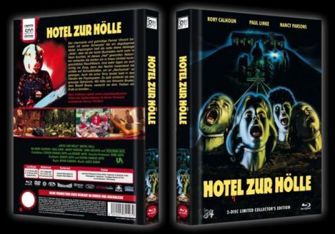Hotel zur Hölle (Limited Mediabook, Blu-ray+DVD) (1980) [FSK 18] [Blu-ray]