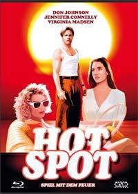 Hot Spot - Spiel mit dem Feuer (Limited Mediabook, Blu-ray+DVD, Cover C) (1990) [Blu-ray]