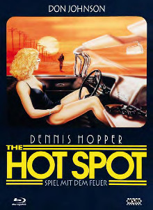 Hot Spot - Spiel mit dem Feuer (Limited Mediabook, Blu-ray+DVD, Cover F) (1990) [Blu-ray]