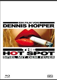 Hot Spot - Spiel mit dem Feuer (Limited Mediabook, Blu-ray+DVD, Cover B) (1990) [Blu-ray]