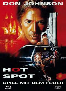 Hot Spot - Spiel mit dem Feuer (Limited Mediabook, Blu-ray+DVD, Cover A) (1990) [Blu-ray]