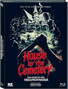 Das Haus an der Friedhofmauer (Limited Mediabook, Blu-ray+DVD, Cover C) (1981) [FSK 18] [Blu-ray]