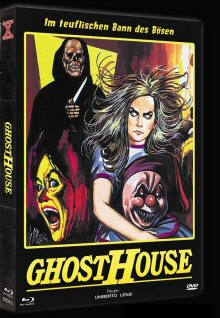 Ghosthouse (Limited Mediabook, Blu-ray+DVD, Cover B) (1988) [FSK 18] [Blu-ray]