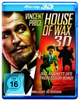 Das Kabinett des Professor Bondi - House of Wax (1953) [3D Blu-ray]