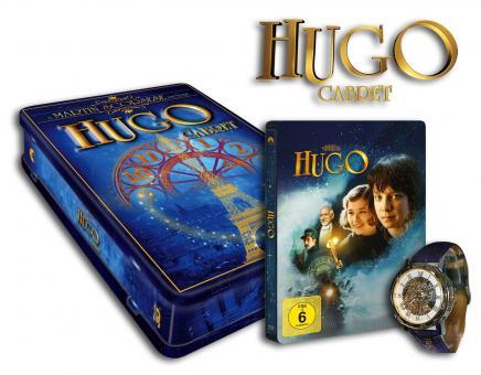 Hugo Cabret (3D-Superset mit 3D Blu-ray, Blu-ray und DVD als Steelbook + ekkl. Uhr) (2011) [3D Blu-ray]
