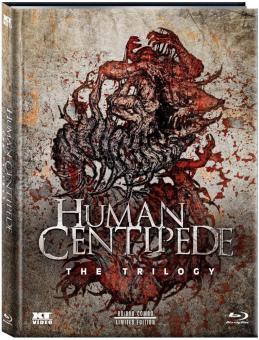 Human Centipede 1-3 Trilogy (Limited Mediabook, 3 Blu-ray's) [FSK 18] [Blu-ray]