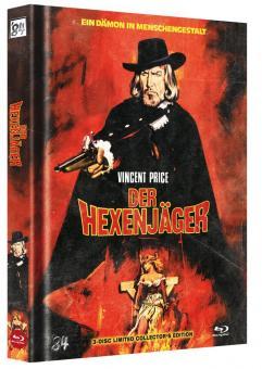 Der Hexenjäger (3 Disc Limited Mediabook, Blu-ray + 2 DVDs, Cover A) (1968) [FSK 18] [Blu-ray)