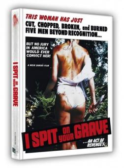 I Spit On Your Grave (Limited Mediabook, Blu-ray+DVD, Cover B) (1978) [FSK 18] [Blu-ray]