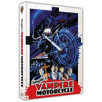 I bought a Vampire Motorcycle (Limited Mediabook, Blu-ray+DVD, Cover A) (1990) [FSK 18] [Blu-ray]