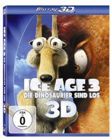 Ice Age 3 - Die Dinosaurier sind los (+ Blu-ray) (+ DVD) (inkl. Digital Copy) (2009) [3D Blu-ray]