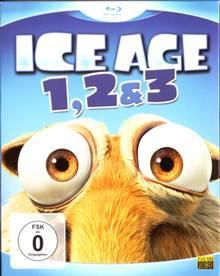Ice Age 1, 2 & 3 (3 Discs) [Blu-ray]