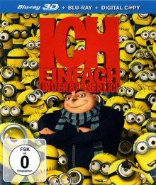 Ich - Einfach unverbesserlich (2D + 3D Version, Blu-ray 3D, inkl. Digital Copy) (2010) [Blu-ray]