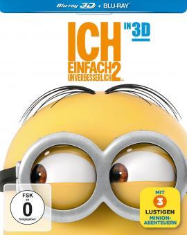 Ich - Einfach unverbesserlich 2 (Limited Steelbook Edition, 3D Blu-ray+Blu-ray) (2013) [3D Blu-ray]