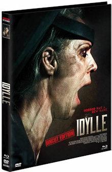 Idylle - Hier hört dich niemand schreien! (Limited Mediabook, Blu-ray+DVD, Cover A) (2015) [FSK 18] [Blu-ray]
