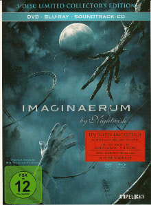Imaginaerum by Nightwish (3-Disc Limited Mediabook Collector's Edition, Blu-ray+DVD) (2012) [Blu-ray]
