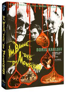 Im Banne des Dr. Monserrat (Limited Mediabook, Cover B) (1967) [Blu-ray]