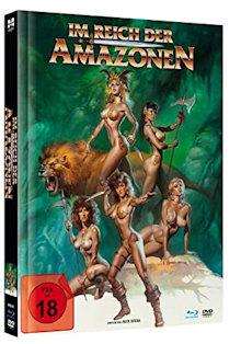Im Reich der Amazonen (Limited Mediabook, Blu-ray+DVD) (1986) [FSK 18] [Blu-ray]