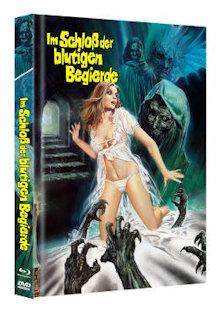 Im Schloß der blutigen Begierde (Limited Mediabook, Blu-ray+DVD) (1968) [FSK 18] [Blu-ray]