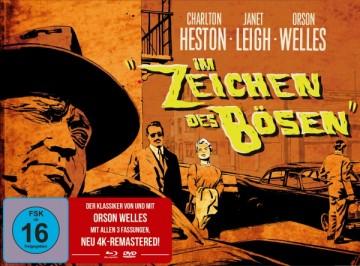 Im Zeichen des Bösen (Limited Mediabook, Blu-ray+DVD) (1958) [Blu-ray]
