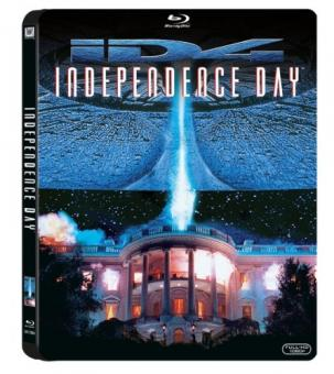 Independence Day (Steelbook) (1996) [Blu-ray]