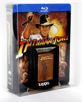 Indiana Jones The Complete Adventures (Jumbo Steelbook inkl. Zippo, 5 Discs) [Blu-ray]
