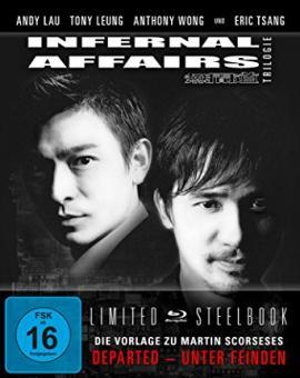 Infernal Affairs 1-3 (3 DIsc Limited Steelbook) [Blu-ray]
