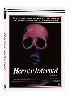 Horror Infernal (Inferno) (3 Disc Mediabook, Blu-ray+2 DVDs, Cover A) (1980) [FSK 18] [Blu-ray]