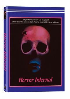 Horror Infernal (Inferno) (3 Disc Limited Wattiertes Mediabook, Blu-ray+2 DVDs, Cover E) (1980) [FSK 18] [Blu-ray]