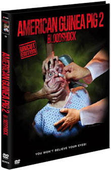 American Guinea Pig 2 - Bloodshock (Limited Mediabook, Cover A) (2015) [FSK 18]