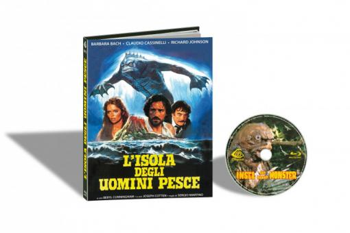 Die Insel der neuen Monster (Limited Mediabook, Cover B) (1979) [FSK 18] [Blu-ray]