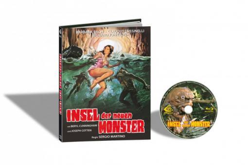Die Insel der neuen Monster (Limited Mediabook, Cover E) (1979) [FSK 18] [Blu-ray]