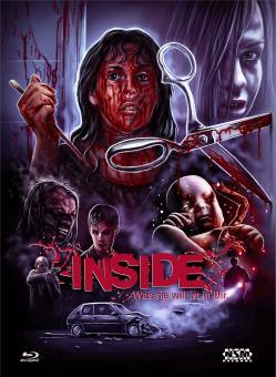 Inside - Was Sie will ist in Dir (Uncut Limited Mediabook, Blu-ray+DVD, Cover E) (2007) [FSK 18] [Blu-ray]