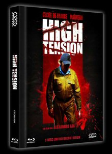 High Tension (Uncut Limited Mediabook, Blu-ray+DVD, Cover A) (2003) [FSK 18] [Blu-ray]