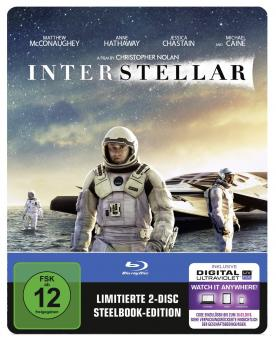 Interstellar (Limited Steelbook, 2 Disc) (2014) [Blu-ray]