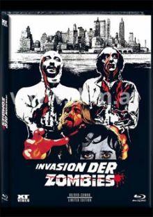 Das Leichenhaus der lebenden Toten (Blu-ray+DVD, Mediabook, Cover A) (1974) [FSK 18] [Blu-ray]