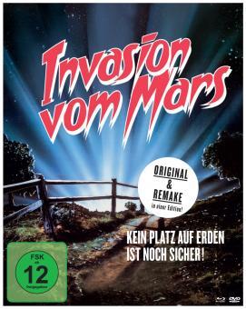 Invasion vom Mars (Limited Mediabook, Blu-ray + 2 DVDs) (1986) [Blu-ray]