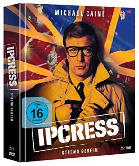 Ipcress - Streng geheim (Limited Mediabook, 2 Blu-ray's+DVD) (1965) [Blu-ray]