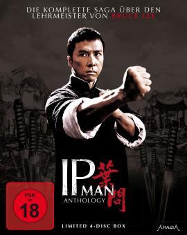 IP Man - Anthology (4 Discs) [FSK 18] [Blu-ray]