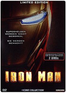 Iron Man - limitiertes Steelbook (ungeschnittene US-Kinofassung, 2 DVDs) (2008)