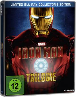 Iron Man - Trilogie (Steelbook inkl. exklusivem Iron Man Comic) (Limited Collector's Edition) [Blu-ray]