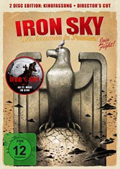 Iron Sky - Wir kommen in Frieden! (2 DVDs, Kinofassung+Director's Cut) (2012)