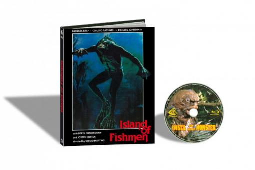 Die Insel der neuen Monster (Limited Mediabook, Cover D) (1979) [FSK 18] [Blu-ray]
