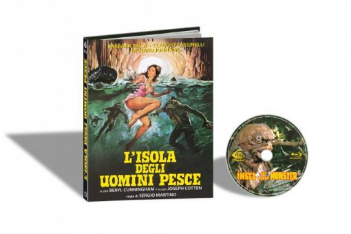 Die Insel der neuen Monster (Limited Mediabook, Cover C) (1979) [FSK 18] [Blu-ray]