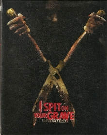 I Spit on your Grave (Unrated, Kleine Hartbox, Cover B) (2010) [FSK 18] [Blu-ray]