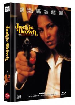 Jackie Brown (Limited Mediabook, Blu-ray+DVD, Cover B) (1997) [Blu-ray]